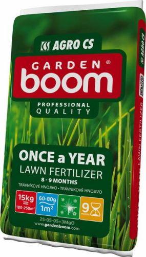 AGRO Garden Boom ONCE A YEAR trávníkové hnojivo 15 kg