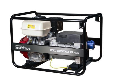 Rámová profesionální elektrocentrála EC 6000G AVR
