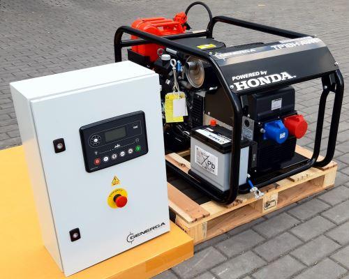 Rámová profesionální elektrocentrála TP 15 H AVR AMF (s automatikou startu)